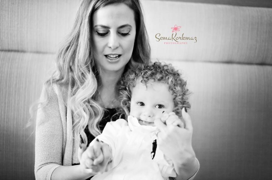 Sarp bebek in doğum günü fotoğrafları. Fotoğrafçı: Sema Korkmaz