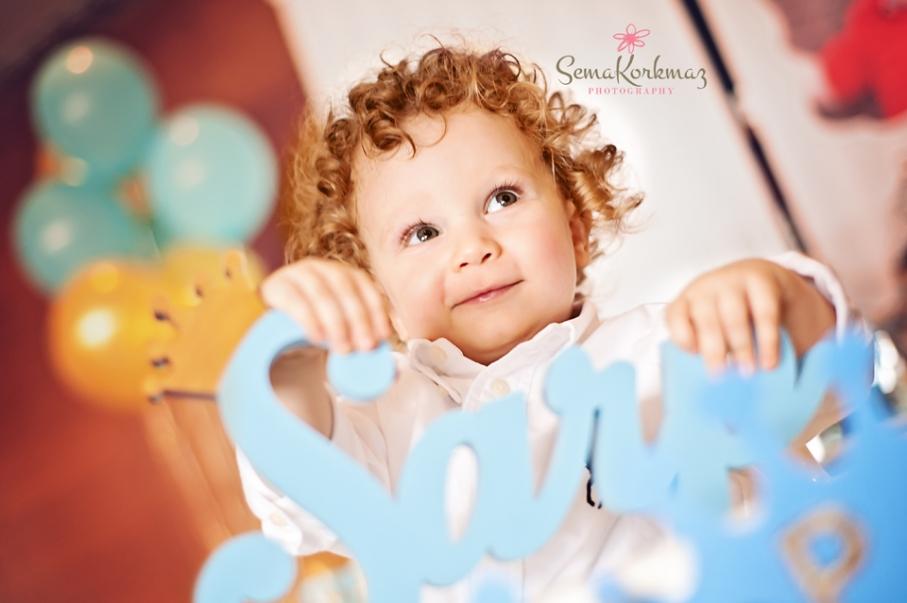 sarp bebek doğum günü fotoğrafları