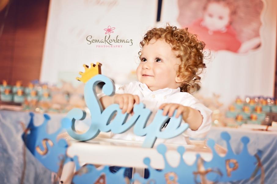 duyduk duymadık demeyin, Sarp 1 yaşında! eyoooo :)
