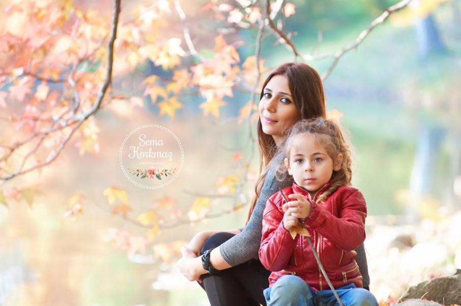 Elif Su ve annesi.