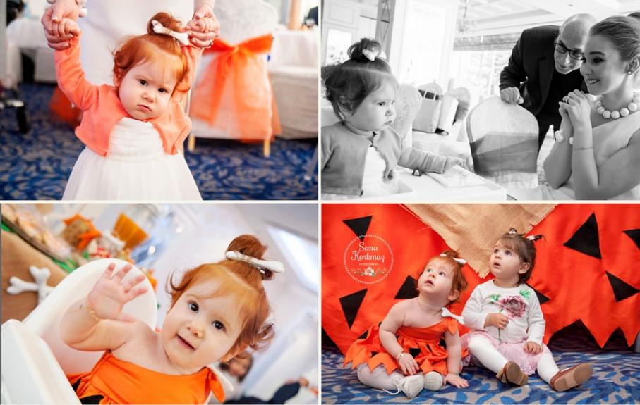 Çakmaktaş Ailesi konseptli birinci yaş günü partisi. Fotoğrafçı: Sema Korkmaz