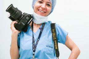 Doğum fotoğrafçısı Sema Korkmaz'ın portresi