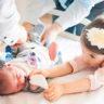 Altunizade Acıbadem Hastanesi, Okan Bebek doğumdan annesinin odasına çıktı.