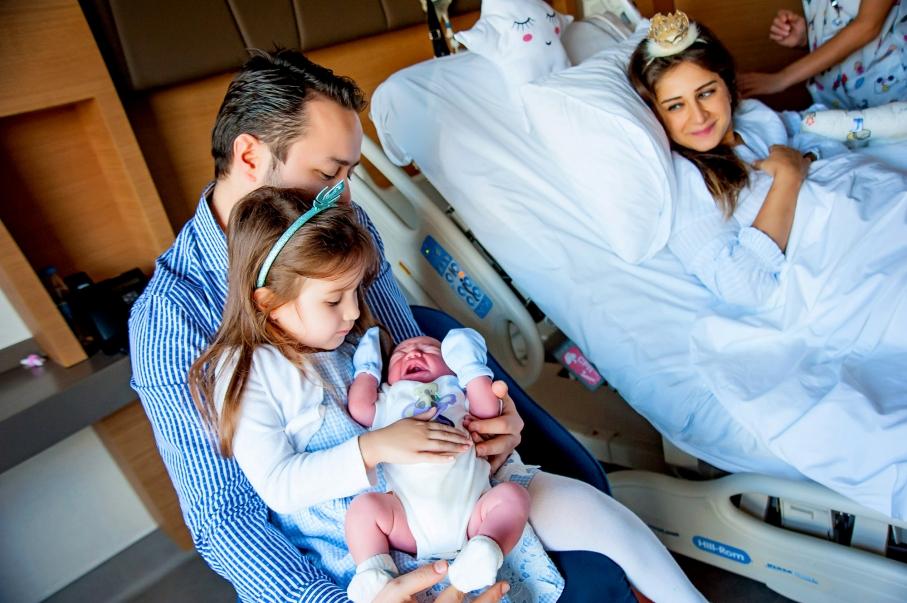 Sema Korkmaz - altunizade acibadem doğum fotoğrafları 18