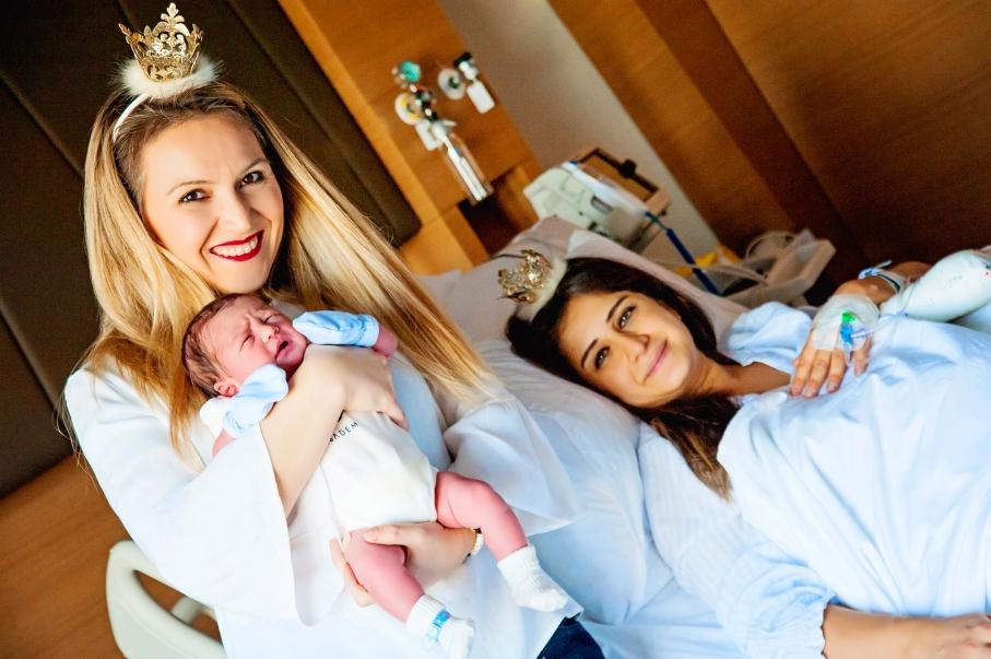 Sema Korkmaz - altunizade acibadem doğum fotoğrafları 19