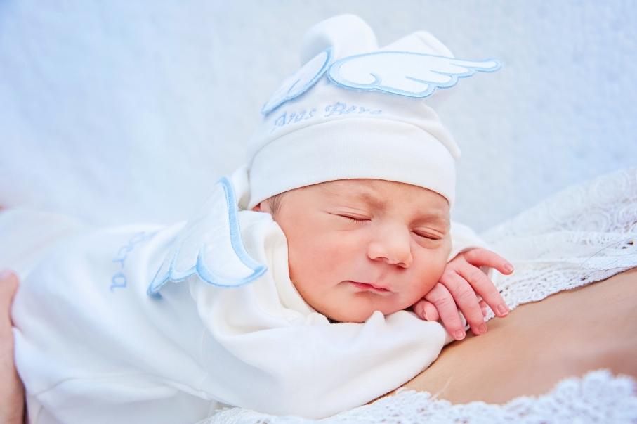 Florance Nightingale Hastanesi doğum fotoğrafları - Aras Berra Bebek uyuyor, hemi de mışıl mışıl :)